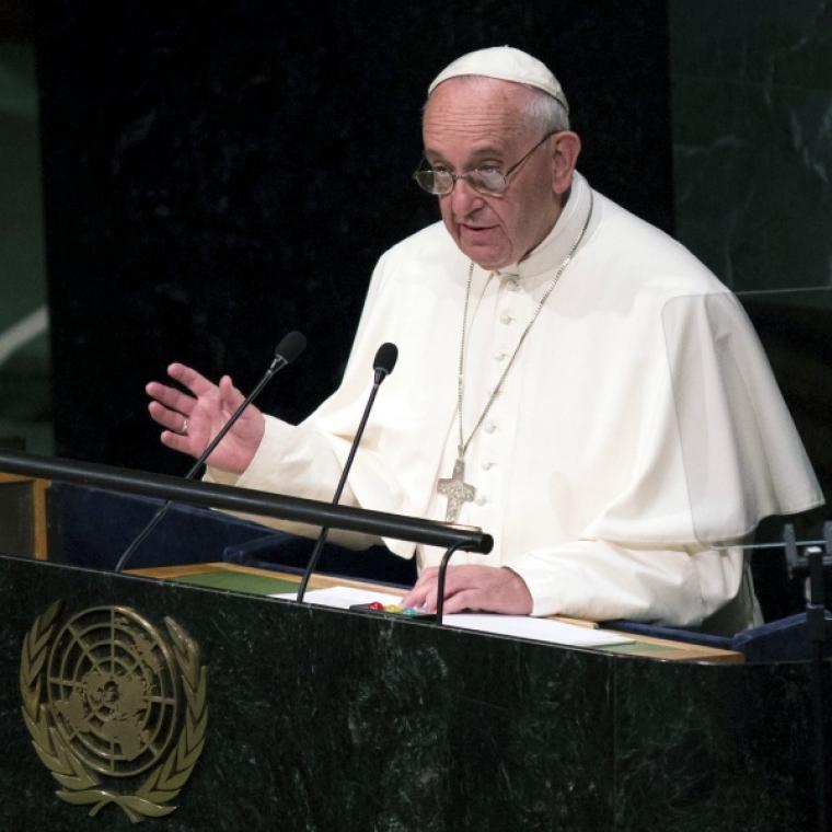 Pope Francis, UN