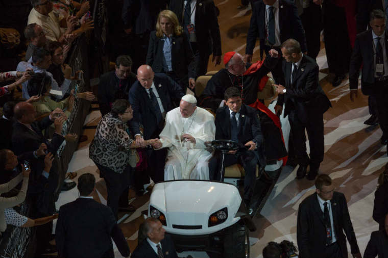 Pope Francis MSG Mass