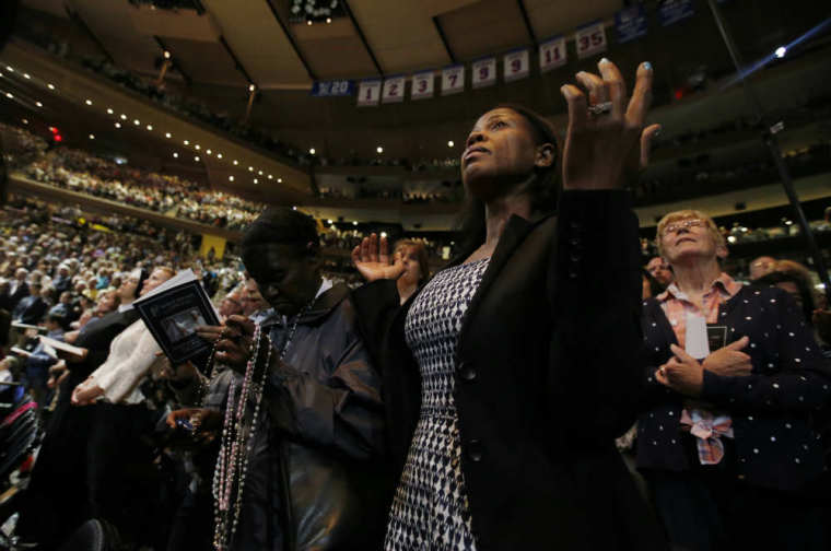 Pope Francis Madison Square Garden