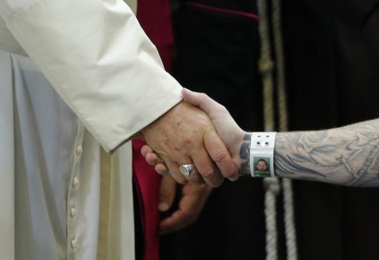 Pope Francis, prison