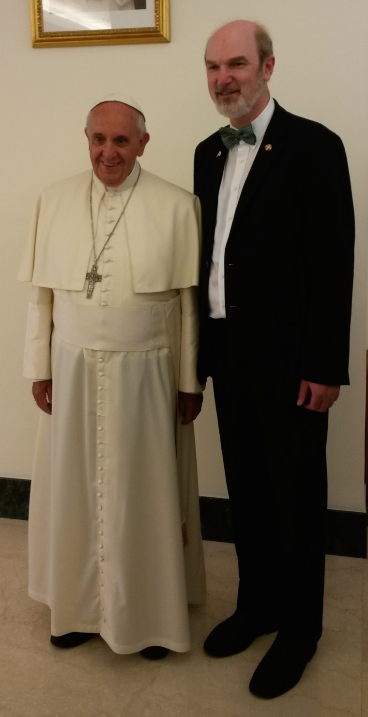 pope francis and thomas schirrmacher