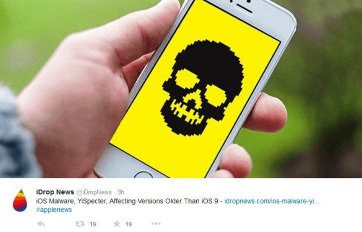 New Malware 'YiSpecter' Discovered Attacking iOS Devices