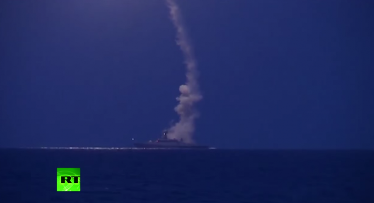 Russia Airstrikes Against ISIS