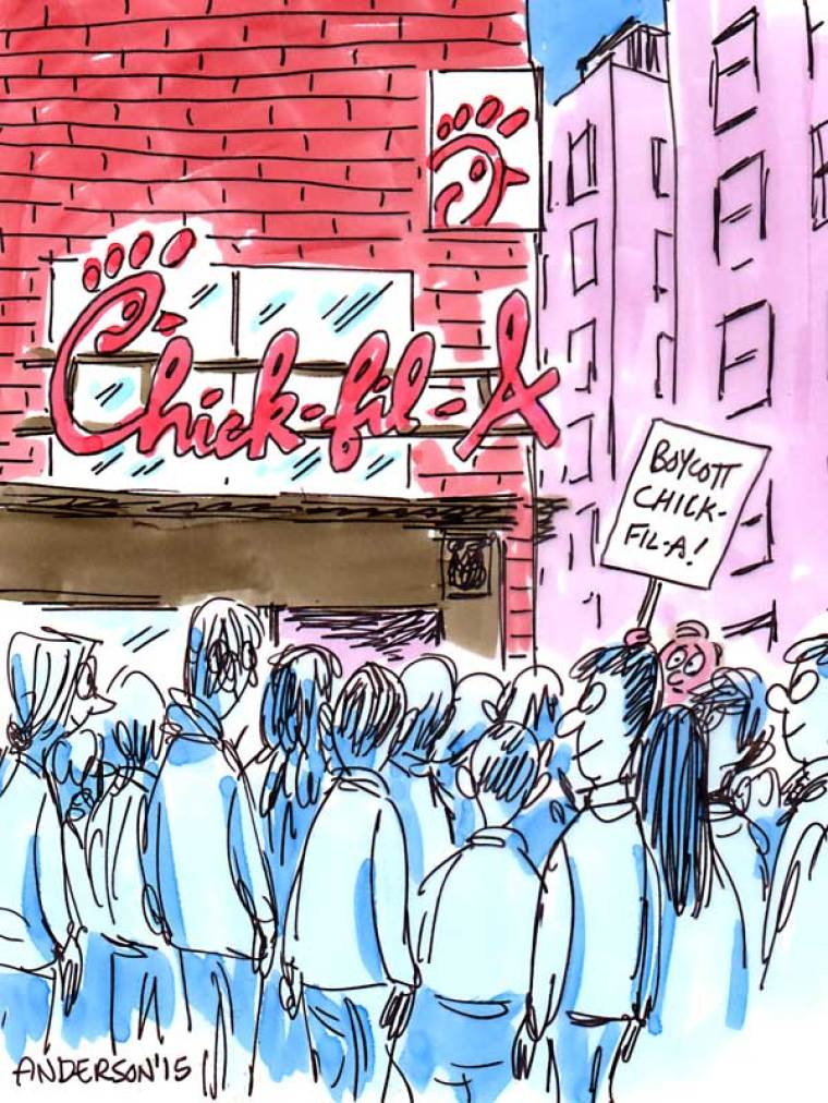 Chick-Fil-A's New York Debut!