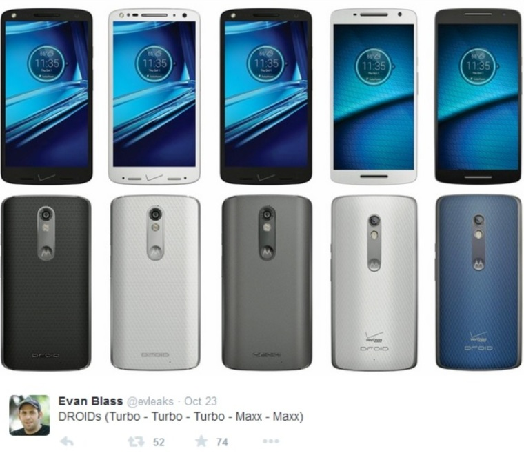 Motorola DROID Turbo 2 and DROID Maxx 2