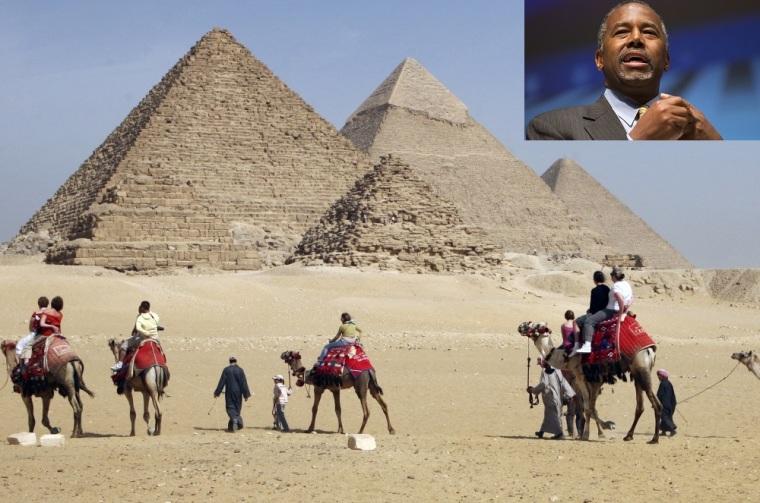 Ben Carson, Egyptian Pyramids