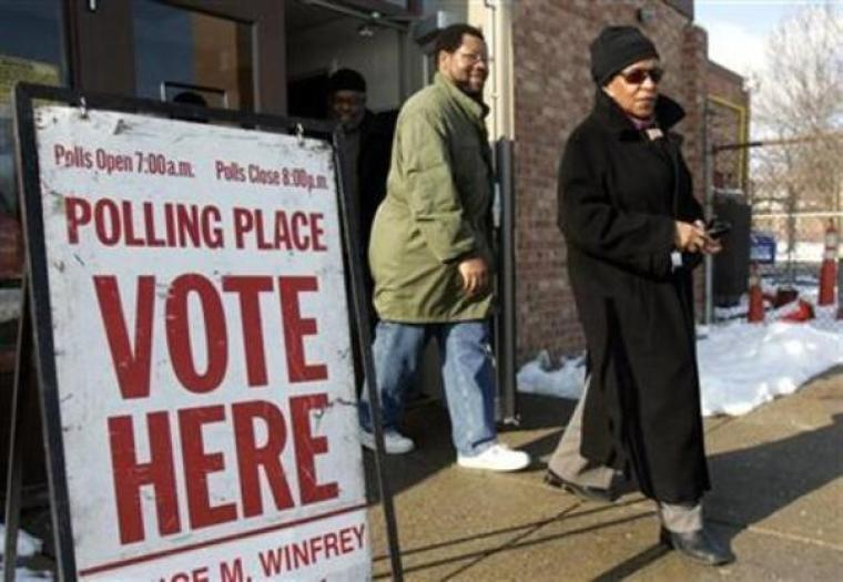 Detroit Polling Station
