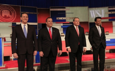 Rick Santorum, Chris Christie, Mike Huckabee, Bobby Jindal