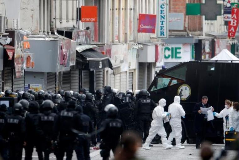 Paris raid