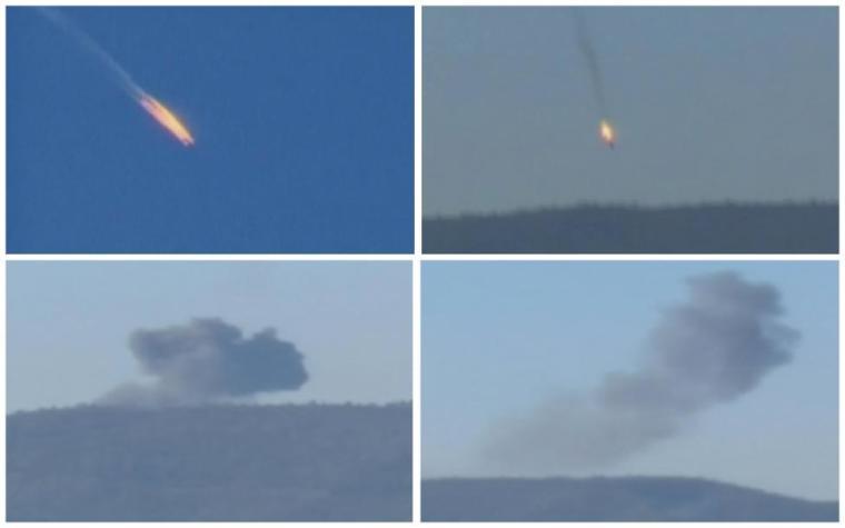 Plane shot down by Turkey