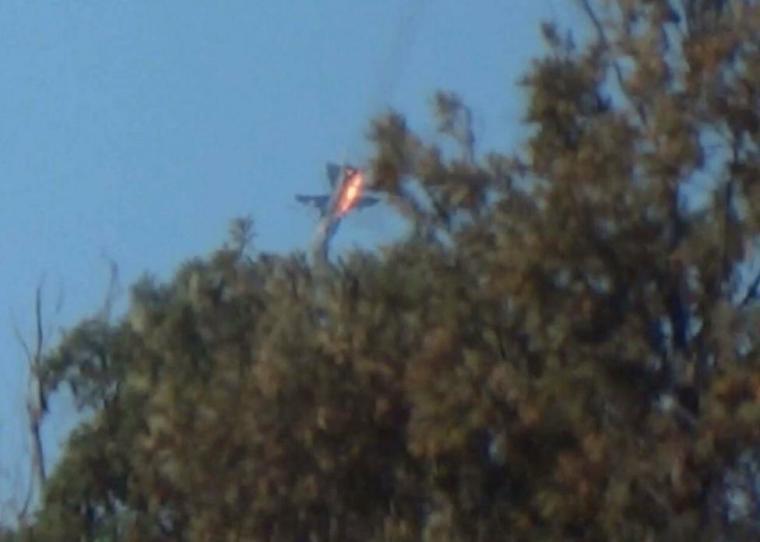 War plane crashes in Syria