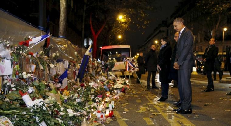 Barack Obama, French President Francois Hollande