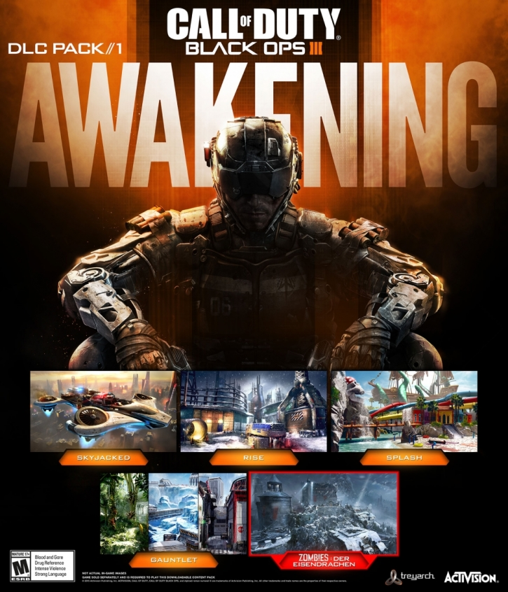 Call of Duty: Black Ops 3' Awakening DLC news: First Pack Includes Call Of Duty Map Pack on