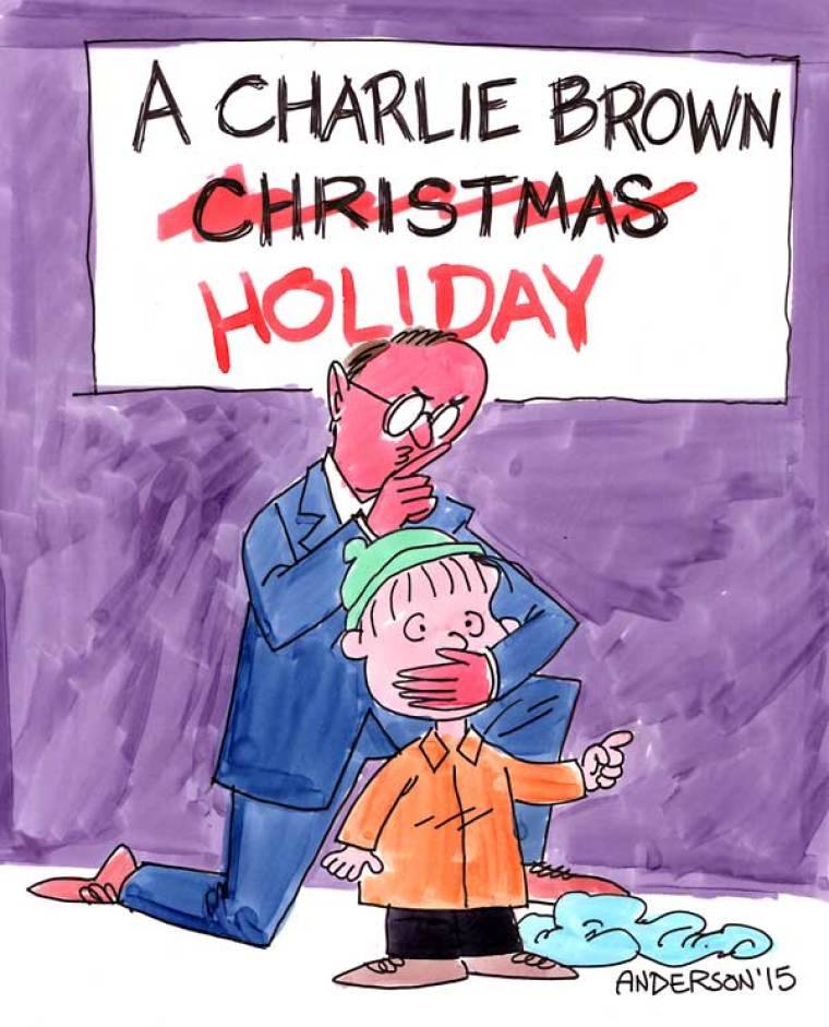 Taking Christ Out Of 'A Charlie Brown Christmas'