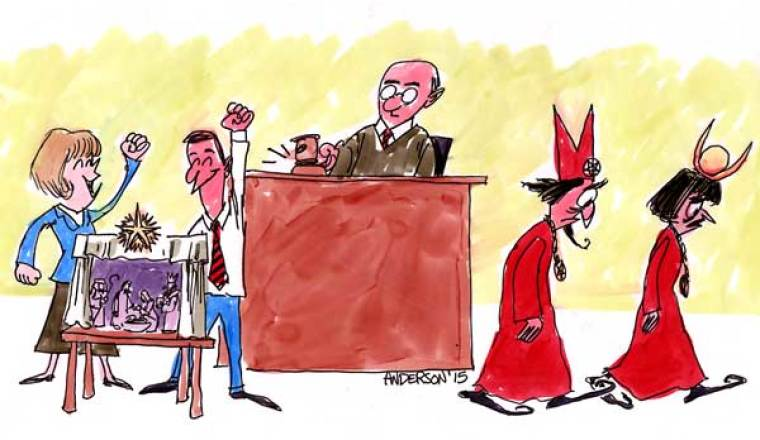 A Nativity Court Victory Sends Satanists Packing!