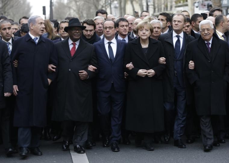 Paris, world leaders