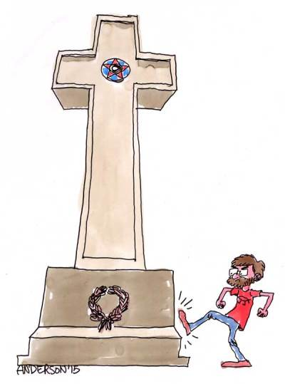 Atheists Take Aim At A Cross Of Valor