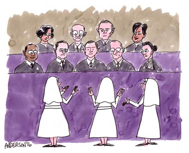 The Little Sisters Have Their Day In Court