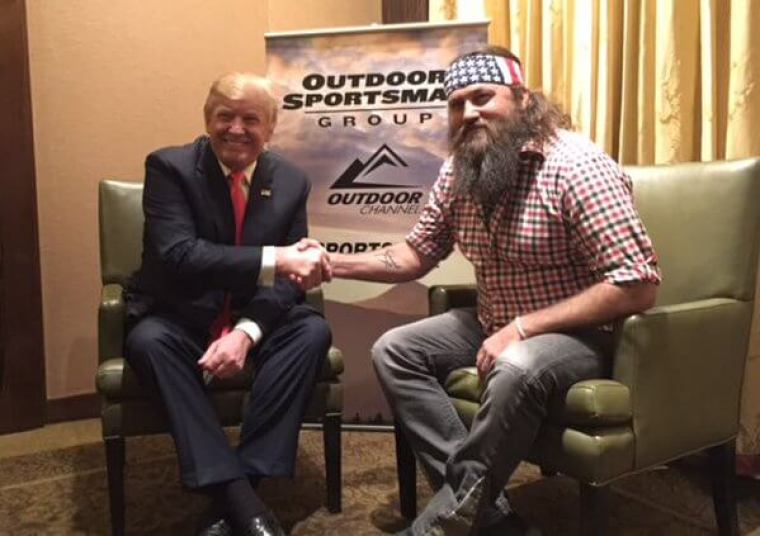 Willie Robertson, Donald Trump, Duck Dynasty