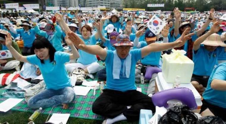 South Korea Christians