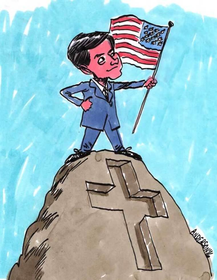 Marco Rubio Speaks Of Faith And Flag