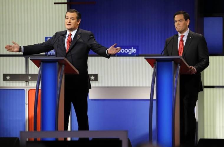 Ted Cruz, Marco Rubio
