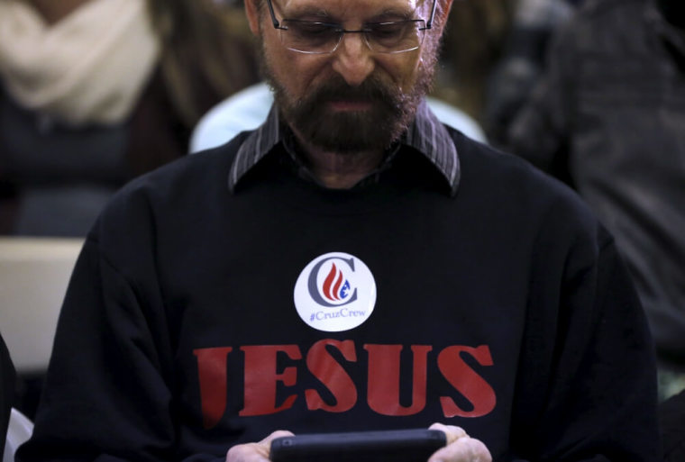 Ted Cruz supporter