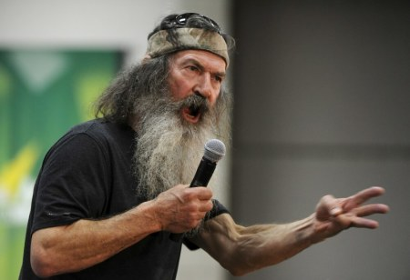 Duck Dynasty S Phil Robertson Shares