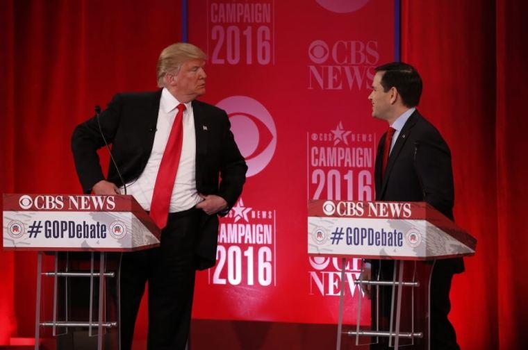 Donald Trump, Marco Rubio
