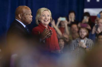 John Lewis, Hillary Clinton