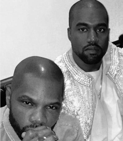 Kirk Franklin and Kanye West