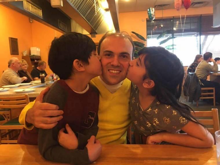 Saeed Abedini and children