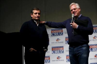 Ted Cruz, Glenn Beck