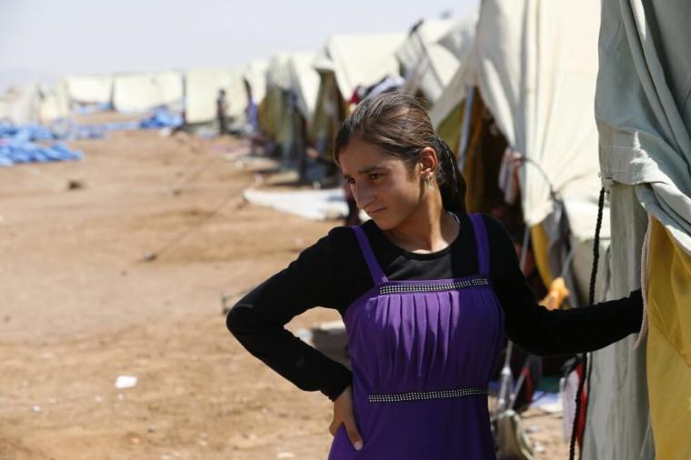Yazidi girl