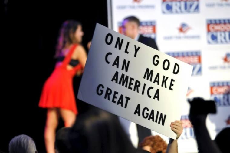 Ted Cruz campaign rally