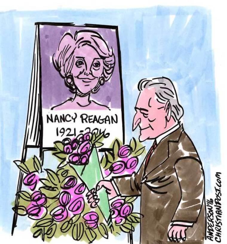 Billy Graham On Remembering Nancy Reagan