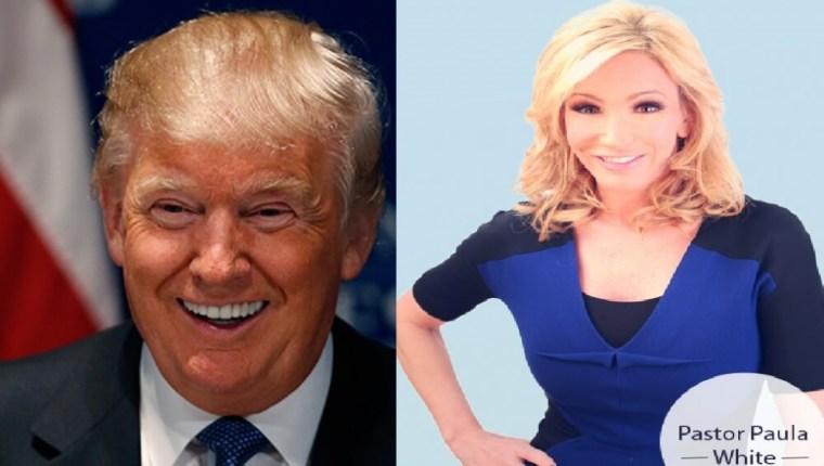 Donald Trump, Paula White