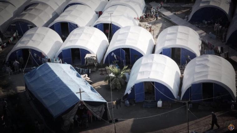 Mar Elia Church refugee camp