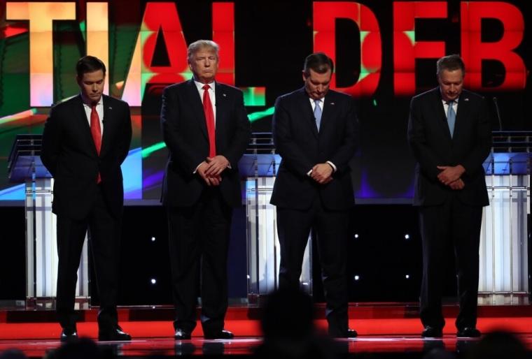Republican U.S. presidential candidates debate sponsored by CNN