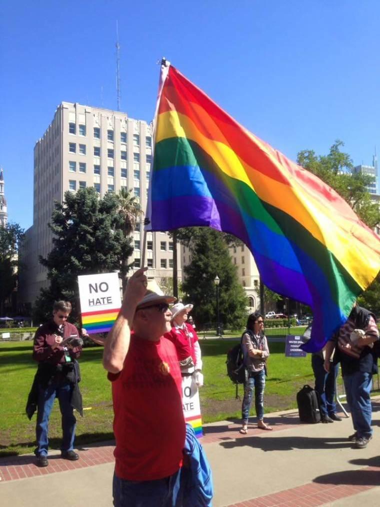 Sacramento LGBT Rally