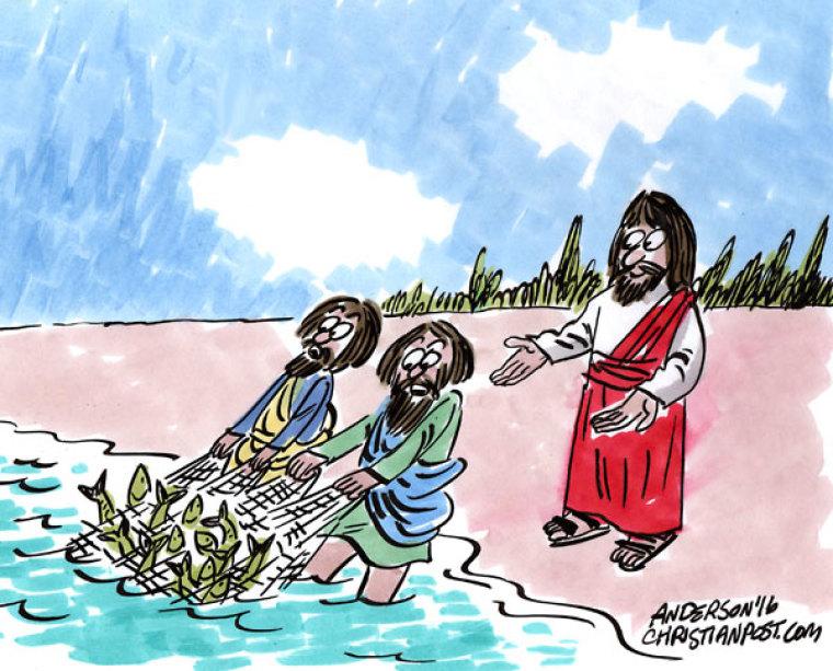 At A Loss? Jesus Will Provide!