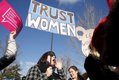 Abortion activist