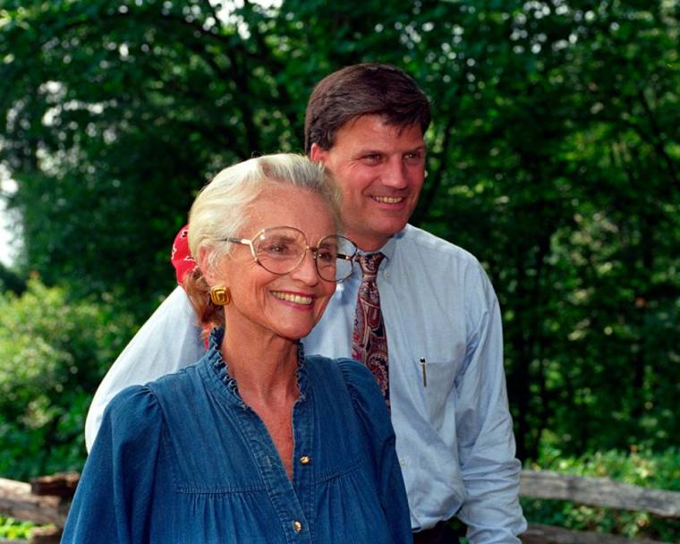 Ruth and Franklin Graham