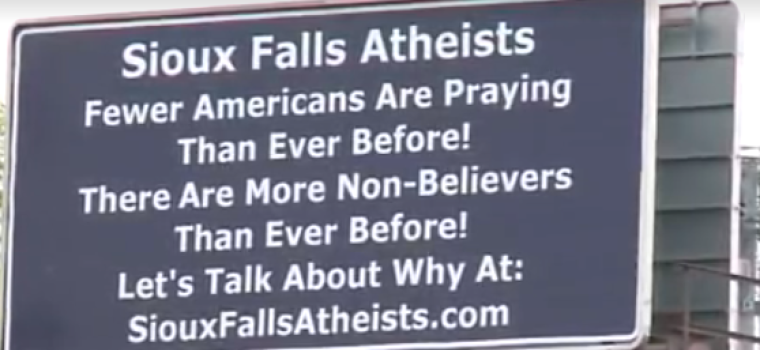 Billboards in Sioux Falls, South Dakota