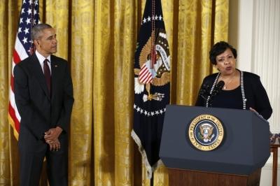 Barack Obama, Loretta Lynch
