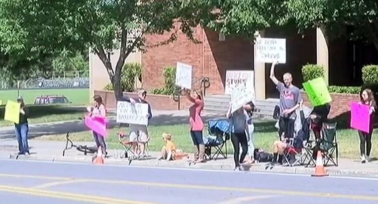 Oregon Student Protest
