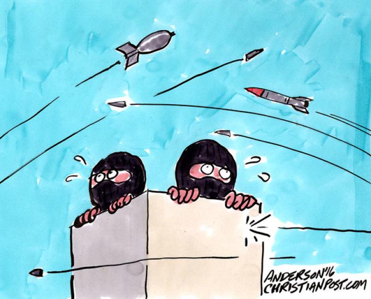 ISIS on the Run in Raqqa