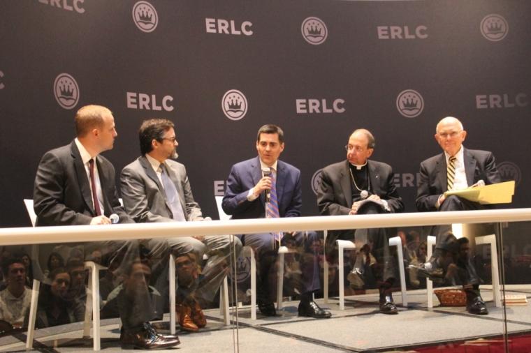Phillip Bethancourt, Sheikh Hamza Yusuf, Russell Moore, Archbishop William E. Lori, Elder Dallin H. Oaks