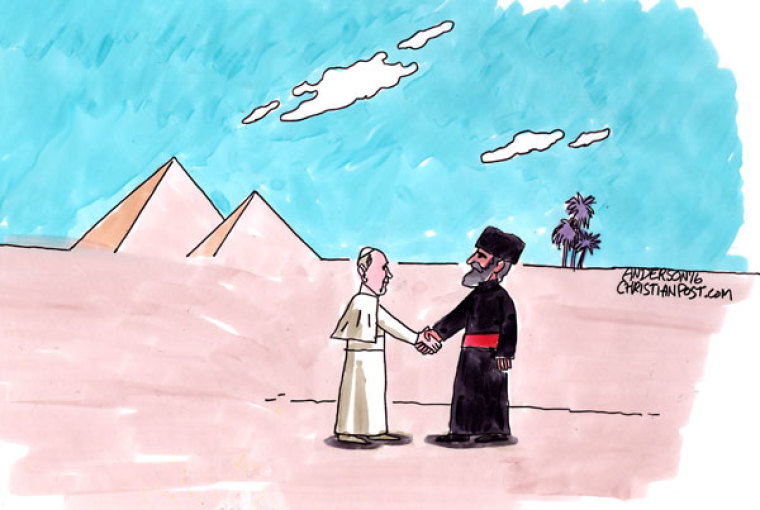 Pope Francis Reaches Out to the Muslim World in Egypt