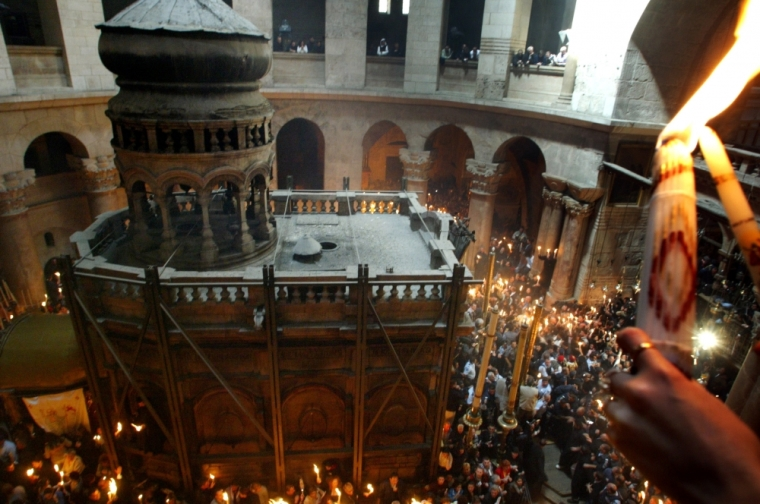 The Edicule of the Tomb in the Church of the Holy Sepulchre